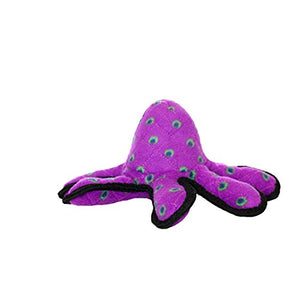 TUFFY World's Tuffest Soft Dog Toy | Ocean Octopus - Small