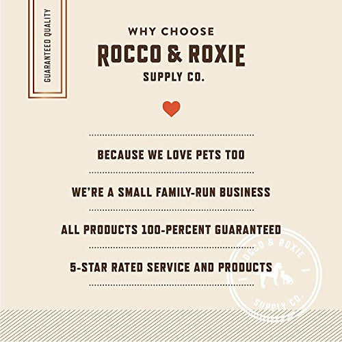 Rocco & Roxie All Natural Grain-Free Beef Liver Crunchy Dog Training Treats
