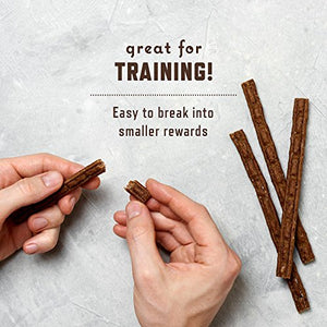 Rocco & Roxie All Natural Grain-Free Beef Jerky Soft-Chew Stick Dog Treats