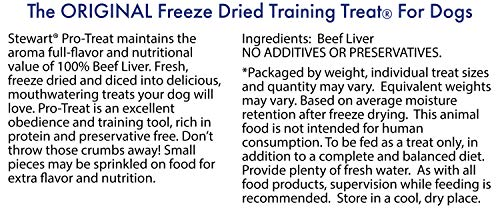 Stewart Freeze Dried Beef Liver Training Treats (21 oz)