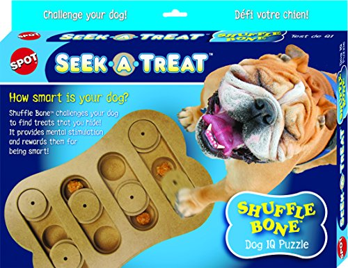 SPOT Interactive Seek-A-Treat Dog Toy Puzzle