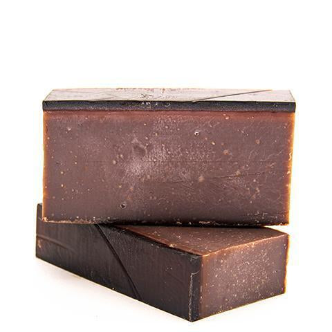 Creme Vanilla All-Natural Charcoal Bar Soap // Handmade in the USA by Soaptopia // Hey Tiger Louisville Kentucky