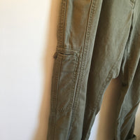 Hey Tiger Louisville Kentucky // LL Bean slouchy army military style trousers  //  size 10