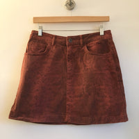 BDG Snakeskin print Denim Skirt // size Medium Available at Hey Tiger in Louisville Kentucky