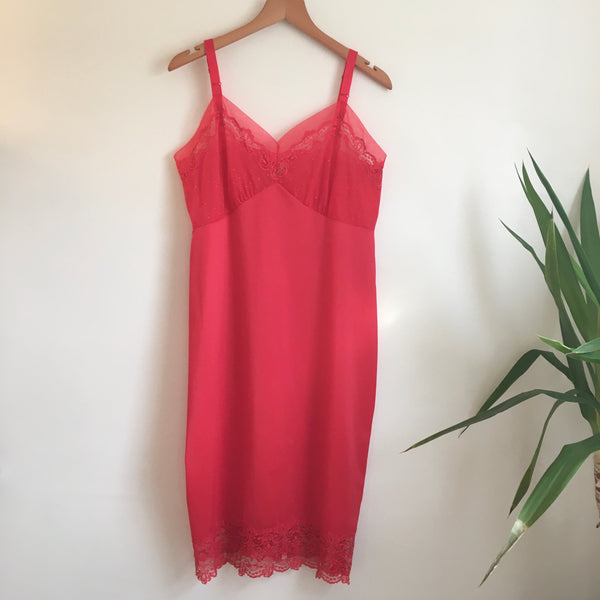 Hey Tiger Vintage Aristocraft slip dress // size 38 // Made in the USA // Valentines Day Lingerie