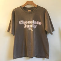 Hey Tiger Louisville Kentucky // Vintage 90s Chocolate Junky boxy crew neck tee // unisex Size Medium // short sleeve t-shirt