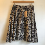 Hey tiger Louisville, Kentucky // Vintage 80s 90s änya by Mandy high waist abstract block print mini skirt // size 13/14
