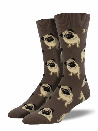 Mens Pug Socks