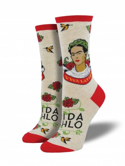 viva la frida kahlo socks by socksmith // hey tiger louisville kentucky