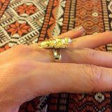 Vintage style brass bumblebee honeybee bee statement ring by Hello Stranger // handmade in the usa