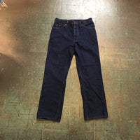 Vintage LEE button fly denim trousers // 32x30 // made in USA