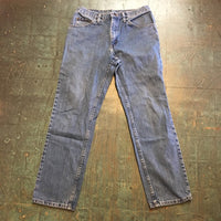 Vintage LEE light wash denim trousers // 32 X 30