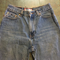 Vintage 90s mom jeans // size 8 short // Retro light wash denim