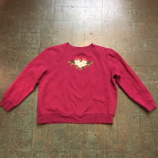 Vintage pullover raglan sweatshirt // US Womens large // unisex retro crew neck jumper