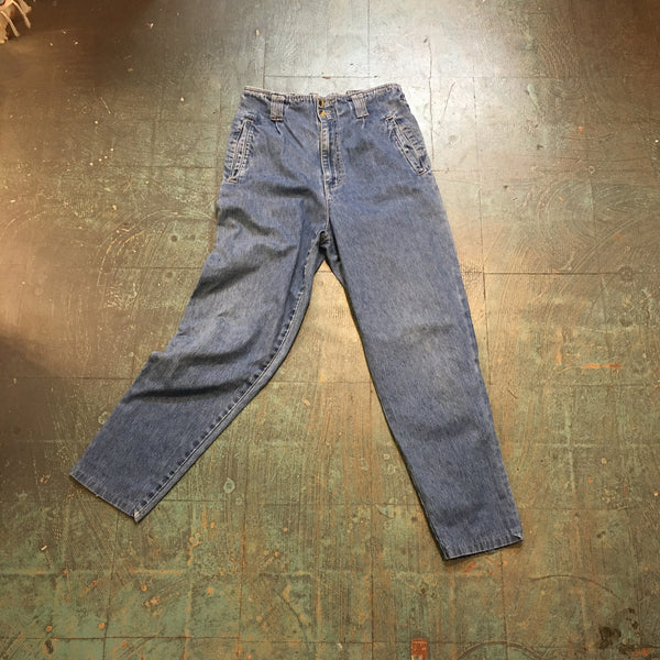 Vintage 80s 90s GLoria VAnderbilt MOm JEans // ligHT wash denim // size 10
