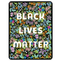 Black Lives Matter Wildflower Floral magnet // made in USA // gift under 10 // hey tiger louisville kentucky