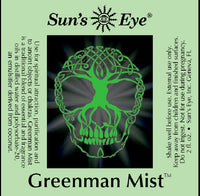 suns eye Greenman Mist, with earthy and spicy top notes in a base of Musk, is formulated to encourage attributes of Greenman, which are the masculine aspects of nature hey tiger louisville kentucky