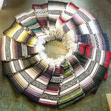 Large Mexican Blankets // various color combos available // hey tiger louisville kentucky
