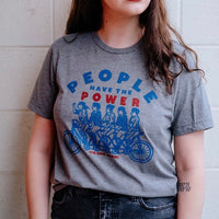 People Have the Power by Kinship Goods // unisex xs-xxl // A shirt inspired by the great Patti Smith // hey tiger louisville kentucky
