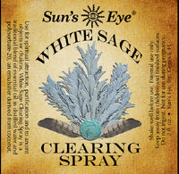 Suns Eye •White Sage Clearing Spray•   •Earthy and herbaceous•   •Traditionally associated with spiritual and energetic cleansing• Hey Tiger Louisville Kentucky