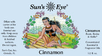 Suns Eye Cinnamon Oil is spicy and earthy and is traditionally associated with attraction, and speed. Louisville Kentucky