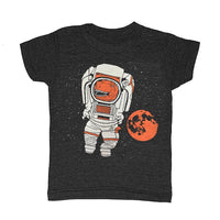 Kid's T-Rex Astronaut t-shirt is printed by hand on a high quality, sweatshop-free super soft tri-blend tee by Gnome Enterprises // hey tiger louisville kentucky