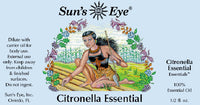 Suns Eye 100% Essential Citronella Oil. Herbaceous and potent, Citronella is traditionally associated with clearing and elevating. Hey Tiger Louisville Kentucky