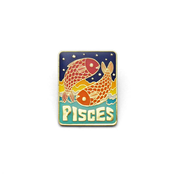 Pisces Enamel Pin by lucky horse press // hey tiger louisville kentucky