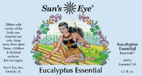 Suns Eye 100% Essential Eucalyptus Oil.   Refreshing and potent, Eucalyptus is traditionally associated with the intention of healing. Hey Tiger Louisville Kentucky
