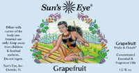Suns Eye Grapefruit Oil, fresh and bright, is traditionally associated with health and vigor.  Hey Tiger Louisville Kentucky