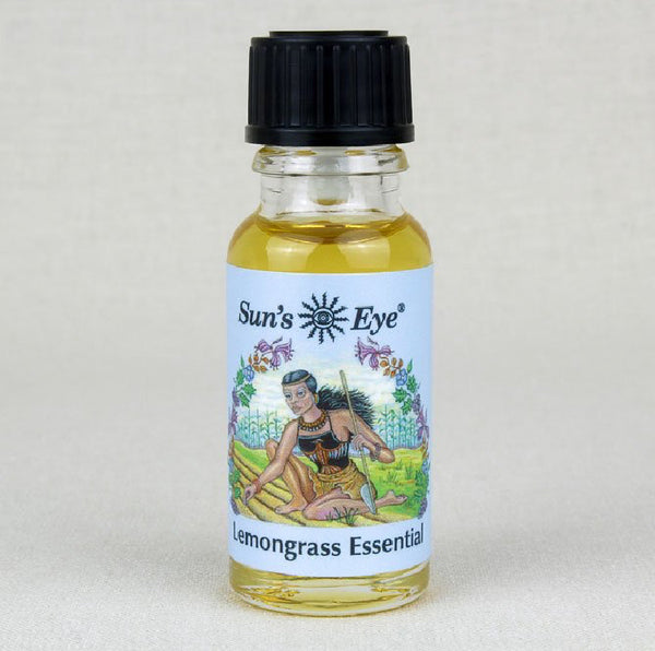 Suns Eye 100% Essential Lemongrass Oil.   Herbaceous and potent, Lemongrass is traditionally associated with balance and clearing. Hey Tiger Louisville Kentucky