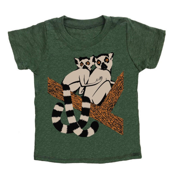 Kid's Forest Friends t-shirt is printed by hand on a high quality, sweatshop-free super soft tri-blend tee by Gnome Enterprises // hey tiger Louisville kentucky