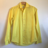 Vintage 60s 70s Ms Sero Simple Yellow Blouse // Size 8 // hey tiger louisville kentucky