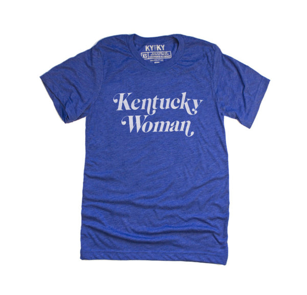 Kentucky Woman T-shirt // size xs-xxl // Hey Tiger Louisville Kentucky