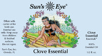 Suns Eye 100% Essential Clove Oil  Spicy and warm, Clove is traditionally associated with protection, love, and money. Hey Tiger Louisville Kentucky