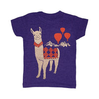 Kid's Llama Love t-shirt is printed by hand on a high quality, sweatshop-free super soft tri-blend tee by Gnome Enterprises // hey tiger louisville kentucky