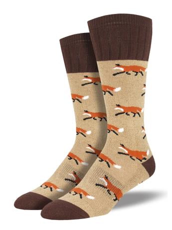 mens outlands outdoorsy fox boot socks by socksmith // hey tiger louisville kentucky