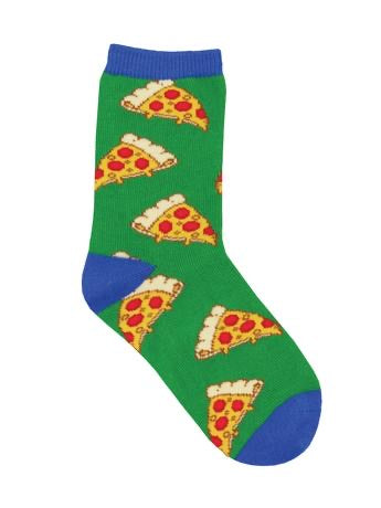 KID'S PIZZA SOCKS by socksmith // hey tiger louisville kentucky