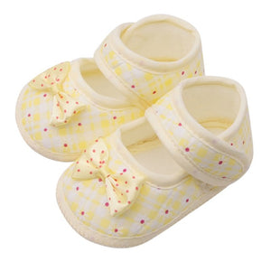 Baby Shoes I Love PaPa&MaMa Letter Printed Soft Bottom Footwear Heart-shaped 0-18M Newborn First walker