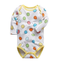 Load image into Gallery viewer, newborn bodysuit baby babies bebes clothes long sleeve cotton printing infant clothing 1pcs 0-24 Months