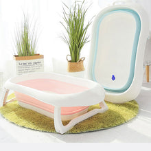 Load image into Gallery viewer, Newborn Baby Folding Bath Tub Baby Swim Tubs Bath Body Washing Portable Foldable Children Eco-friendly Non-Slip Safe Kid Bathtub