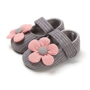 Newborn Baby Girls Shoes PU leather Buckle First Walkers With Bow Red Black Pink White Soft Soled Non-slip Crib Shoes