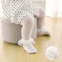 Load image into Gallery viewer, Baby Tights Infant Girl Newborn Kids Pantyhose Lace Bow Flower Hosiery Kids Stockings Summer Mesh Tights Toddler