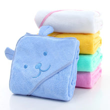 Load image into Gallery viewer, Baby Towel Newborn Bath Comfortable Soft Baby Hooded Bathrobe Cute Animal Beach Cotton Towel kids Babies Blanket