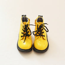 Load image into Gallery viewer, 2019 New Children Shoes PU Leather Waterproof leather boots Kids leather shoes Brand Girls Boys Rubber Boots Fashion Sneakers