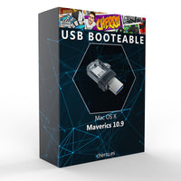 USB booteable Mac OS X Mavericks 10.9 - Envío gratis