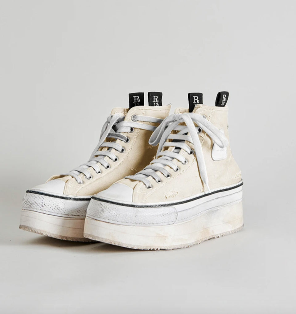 R13 - HIGH TOP SNEAKER