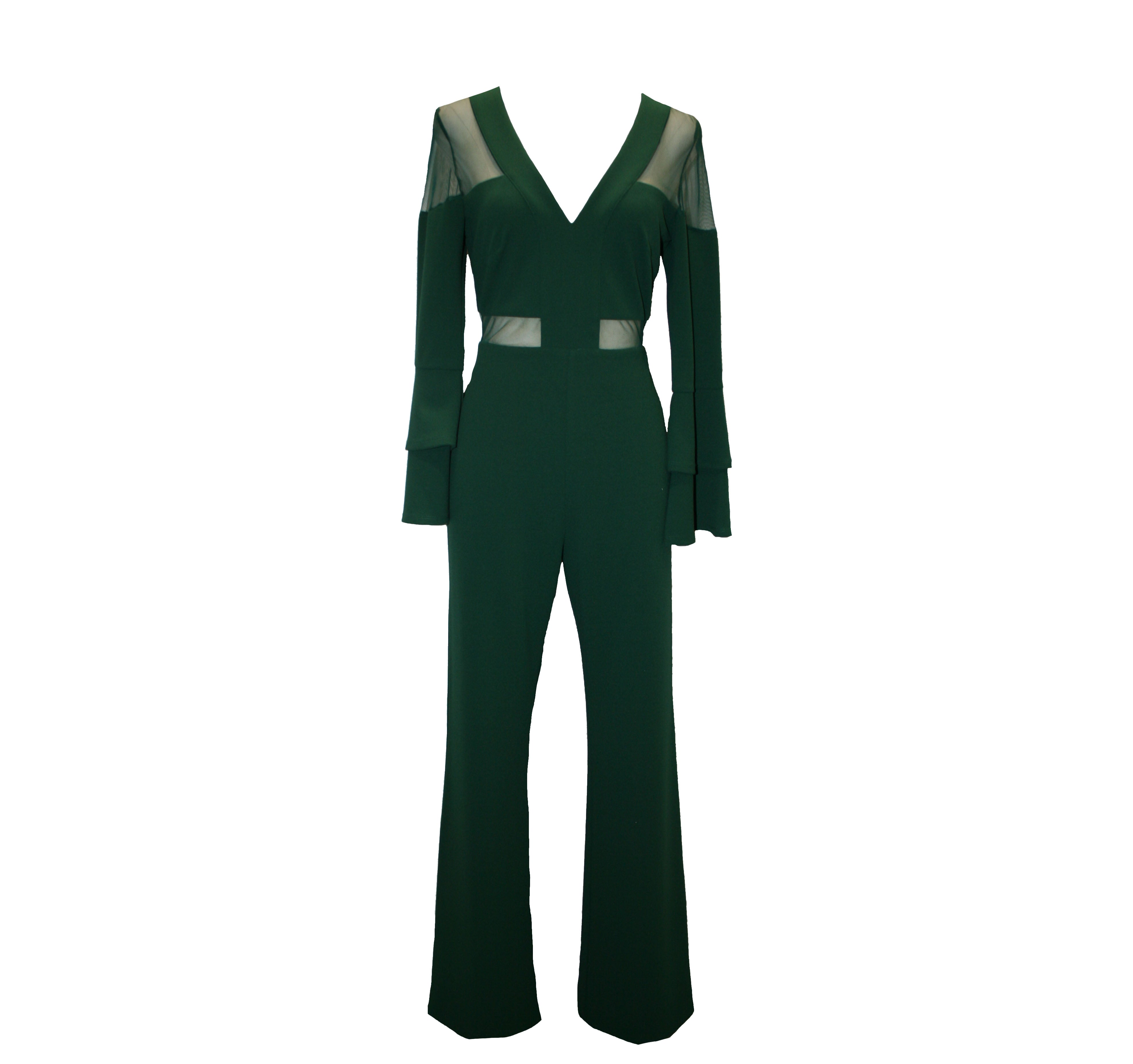 Flared jumpsuit
