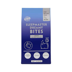 BIO-E Sleepmaster Dreamy Bites Grape Flavour 60 Sachets