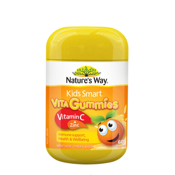 NATURE'S WAY KIDS SMART Vita Gummies Vitamin C+Zinc 60S